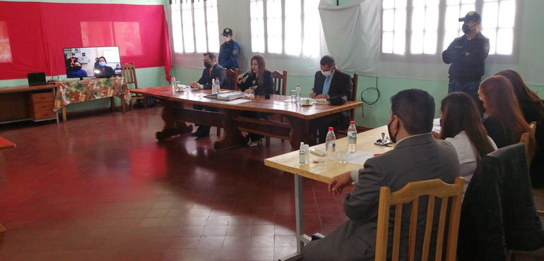Dictan sentencia para líderes del EPP: Alcides Oviedo Brítez, Carmen Villalba y Aldo Meza.