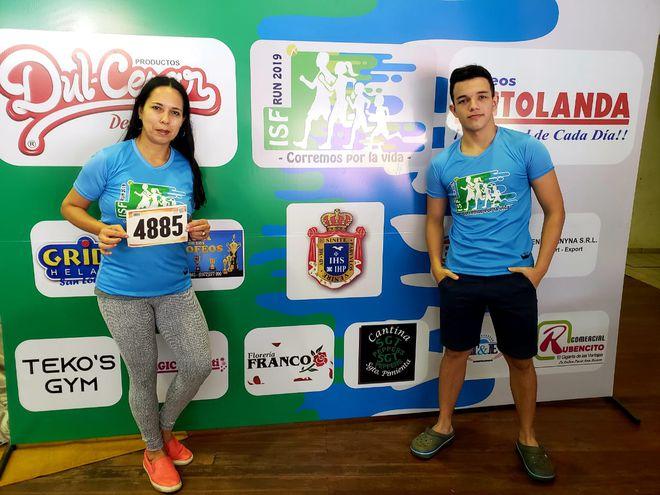 """Corremos por la vida"" la correcaminata del Instituto Sagrada Familia de San Lorenzo, se realizará mañana domingo."