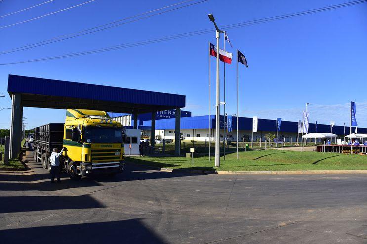 Planta industrial de Athena Foods, en la ciudad de Belén, Concepción.