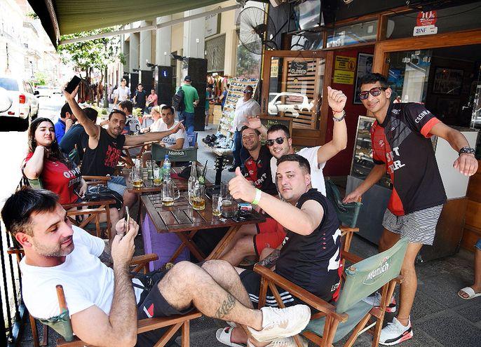 La calle Palma recibió a una importante cantidad de turistas durante todo el día.