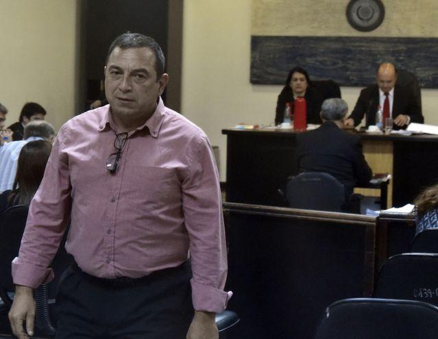 El comisario principal  Jorge López también declaró.