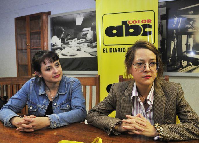 Ana Villamayor y Regina Yugovich visitaron la redacción de ABC.