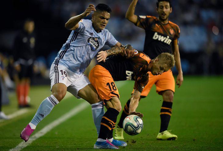 El Celta derrotó al Valencia.