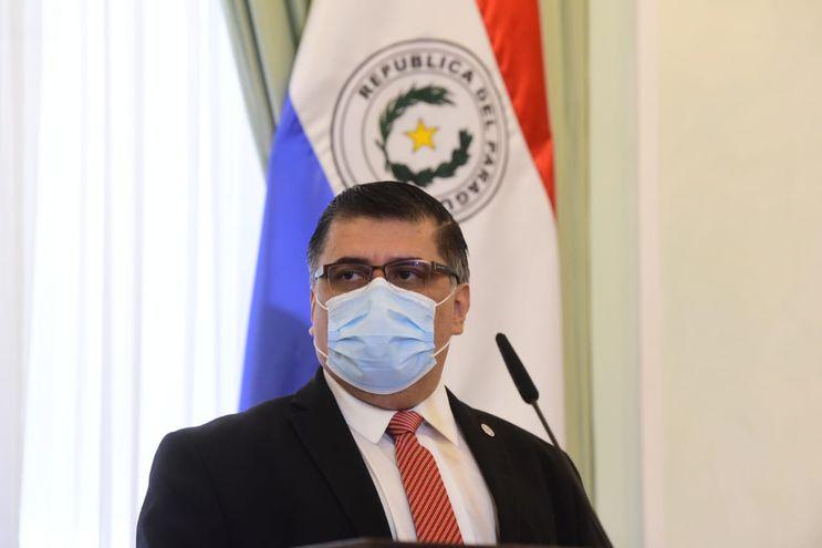 Julio Borba, nuevo ministro de Salud.
