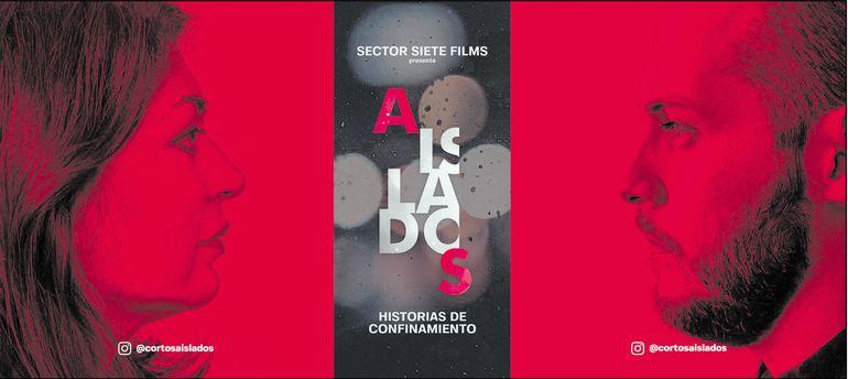 """Alicia Guerra y Alejandro Ramírez son los protagonistas del primera capítulo de la serie """"Aislados"""", que se estrenó ayer por Instagram TV."""