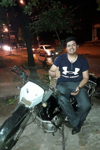 Juan Pablo Alonso Ayala, el joven de 22 años que ayudó a salvar una vida.