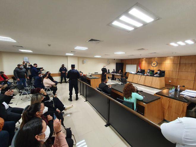 Este lunes concluyó el juicio contra Wilson Scappini por el atroz crimen contra la jueza Diana Eveline Mereles.