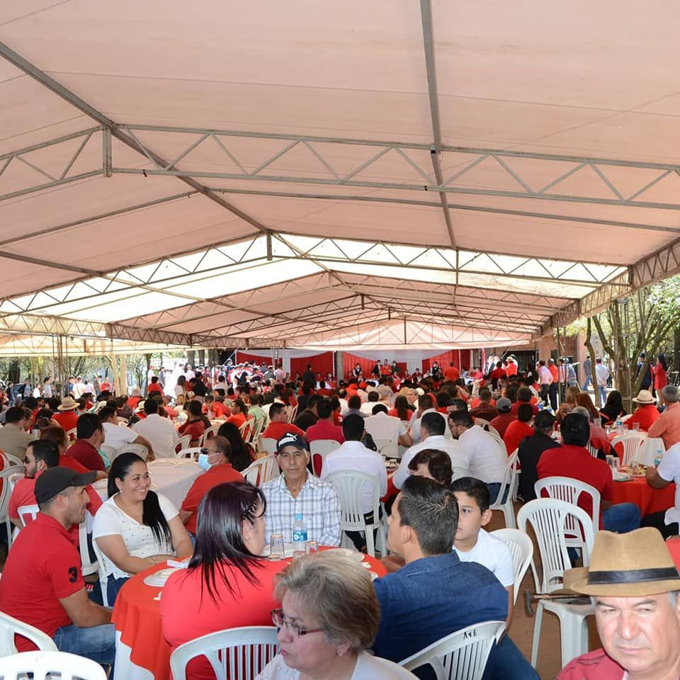 Dirigentes de base reciben instrucciones de votar en las elecciones municipales de punta a punta y que el 11 iniciar la carrera para ganar la presidencia con Hugo Velázquez