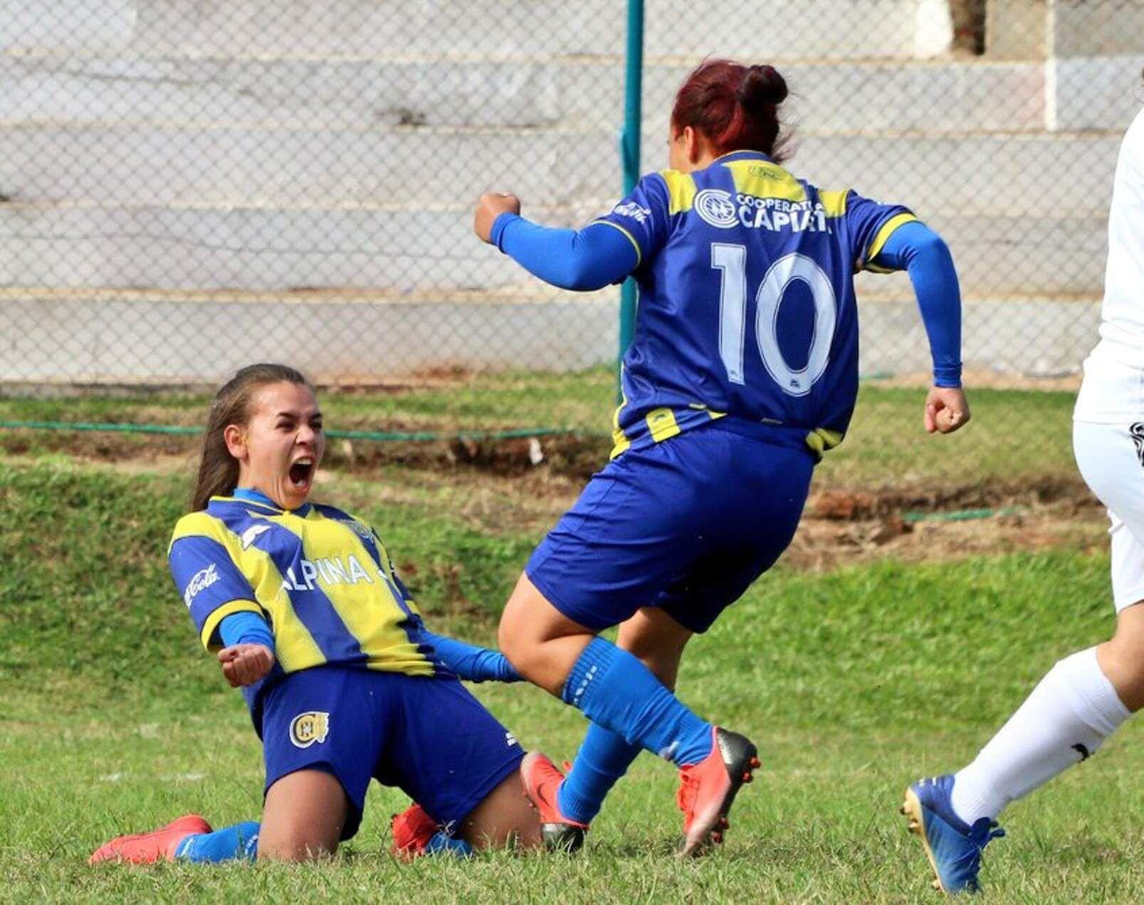 Ramona Martínez marcó el primer gol del Deportivo Capiatá en el empate de 2-2.
