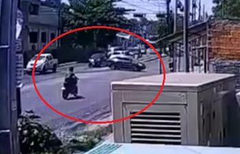 Accidente fatal sobre la avenida Fernando de la Mora.