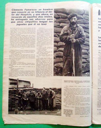 Entrevista a Clemente Famaraza Sandegui en Mundo Gráfico, por Mario Arnold, miércoles 10 de febrero de 1937, p. 6.