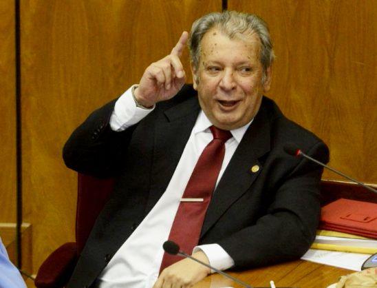Senador Juan Carlos Galaverna (Calé).