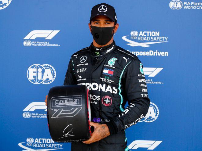 Lewis Hamilton conquistó la pole del Gran Premio de Gran Bretaña de Fórmula 1.