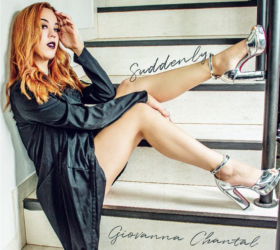 """Giovanna Chantal en la portada de """"Suddenly""""."""