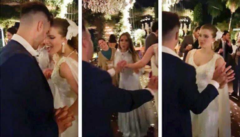 Imágenes captadas por los propios invitados revelan que en la boda de Sol Cartes no se cumplieron las medidas sanitarias.