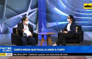 Tarifa media que paga la ANDE a Itaipú