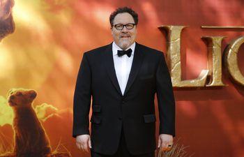 """Jon Favreau, director de """"El Rey León"""", durante el estreno de la película en Londres, el pasado lunes."""
