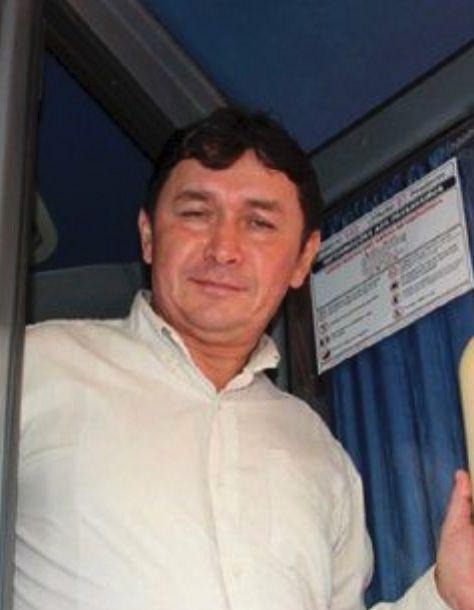 Gustavo Giménez Silvero (ANR Añetete), intendente actualmente  prófugo del distrito de  Natalicio Talavera (Guairá).