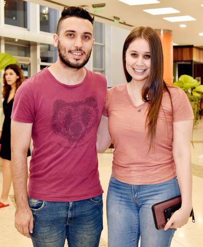 Gerardo González y Cynthia Cárdenas.