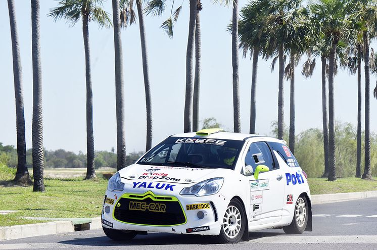 Álvaro Yaluk y Pablo Olmos, al mando de un Citroën DS3 R3T Max, fueron los ganadores ayer de la general y la Clase RC3 de la sexta y última fecha del Super Prime, en Chaco'i.