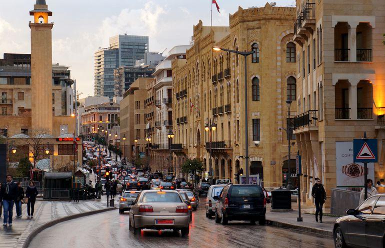El centro de Beirut en 2013. Aquí se invirtió mucho dinero en la reconstrucción después de la guerra civil.