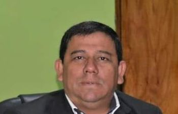 Inocencio Cuevas Ruiz Díaz, por quien salen a amedrentar en Yaguarón.