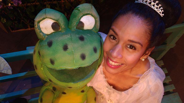 La actriz Dai Acosta interpreta a la princesa en este espectáculo de la compañía Equipo Teatro.