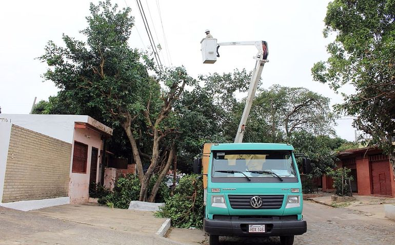 En esta primera semana del operativo, la ANDE pretende realizar el mantenimiento a 489 puestos de distribución.