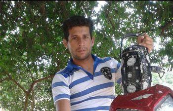 Joaquín Atilio Amarilla Benítez presunto autor del feminicidio.