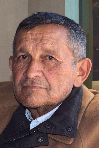 Augencio Miranda, poblador de la comunidad Kuarahy Resê.