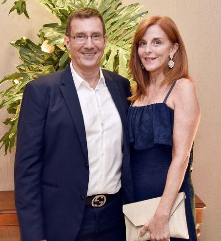Osvaldo Tenace y Catalina Ramírez de Tenace.