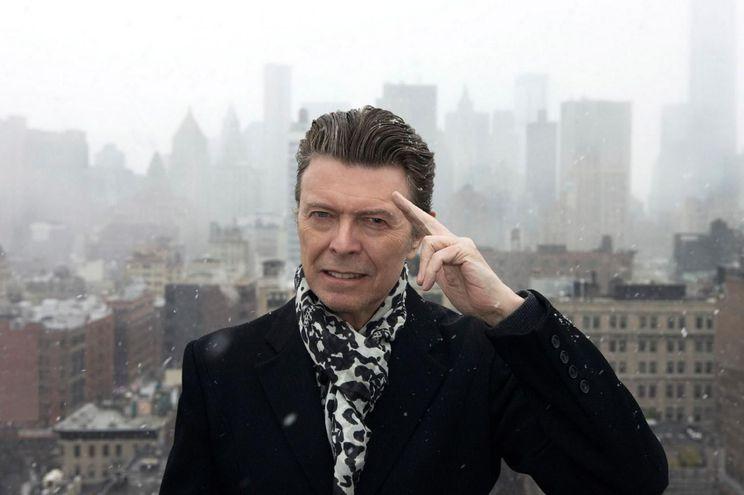 El fallecido cantante David Bowie.