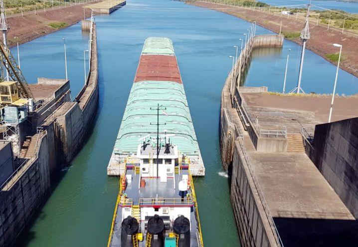 Durante el actual estiaje, ya fueron dos las oportunidades en las que los gobiernos de Paraguay y Brasil coordinaron para elevar temporalmente el nivel de las aguas y permitir la navegabilidad.