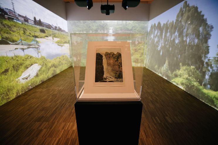 Exposición por el aniversario de Alexander von Humboldt en el Humboldt Forum, en Berlin, Alemania, en setiembre pasado.
