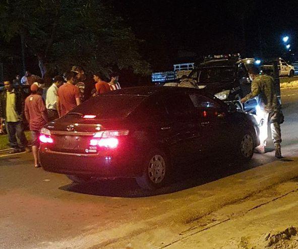 Flavio Villa Alta Colmán iba en este vehículo cuando fue interceptado y asesinado.