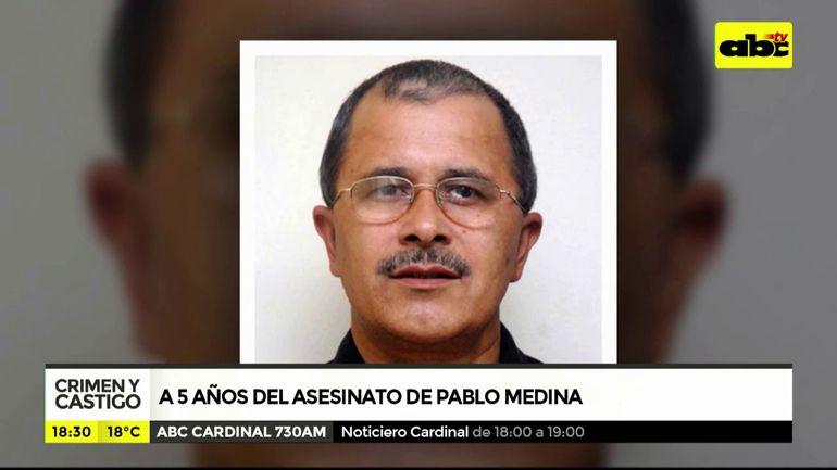 A 5 años del asesinato de Pablo Medina