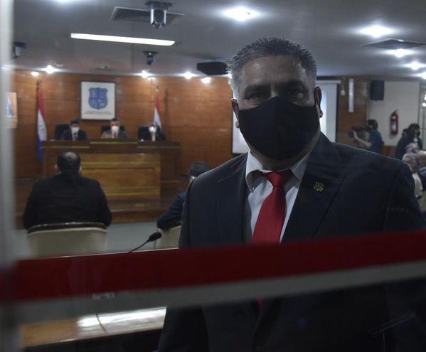 César Ojeda, electo intendente de Asunción para cubrir a Nenecho.