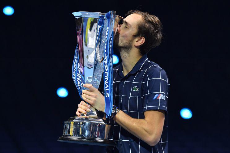 Daniil Medvedev ganó el torneo de Maestros