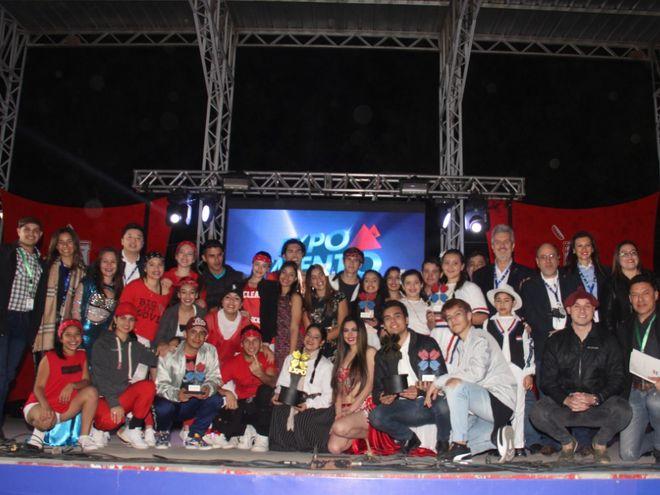 Ganadores de al Expo Talento 2019.
