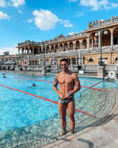 Renato Prono deja Budapest y viaja a Doha para la tercera  etapa del circuito de la Copa del Mundo de Natación.