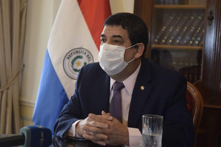 Vicepresidente de la República, Hugo Velázquez.