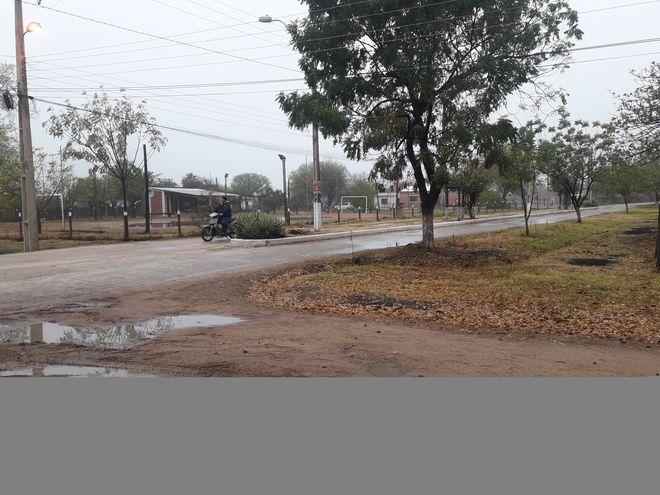La semana pasada se registraron escasas precipitaciones en el distrito de Fuerte Olimpo, donde se soporta una dura temporada de sequía.