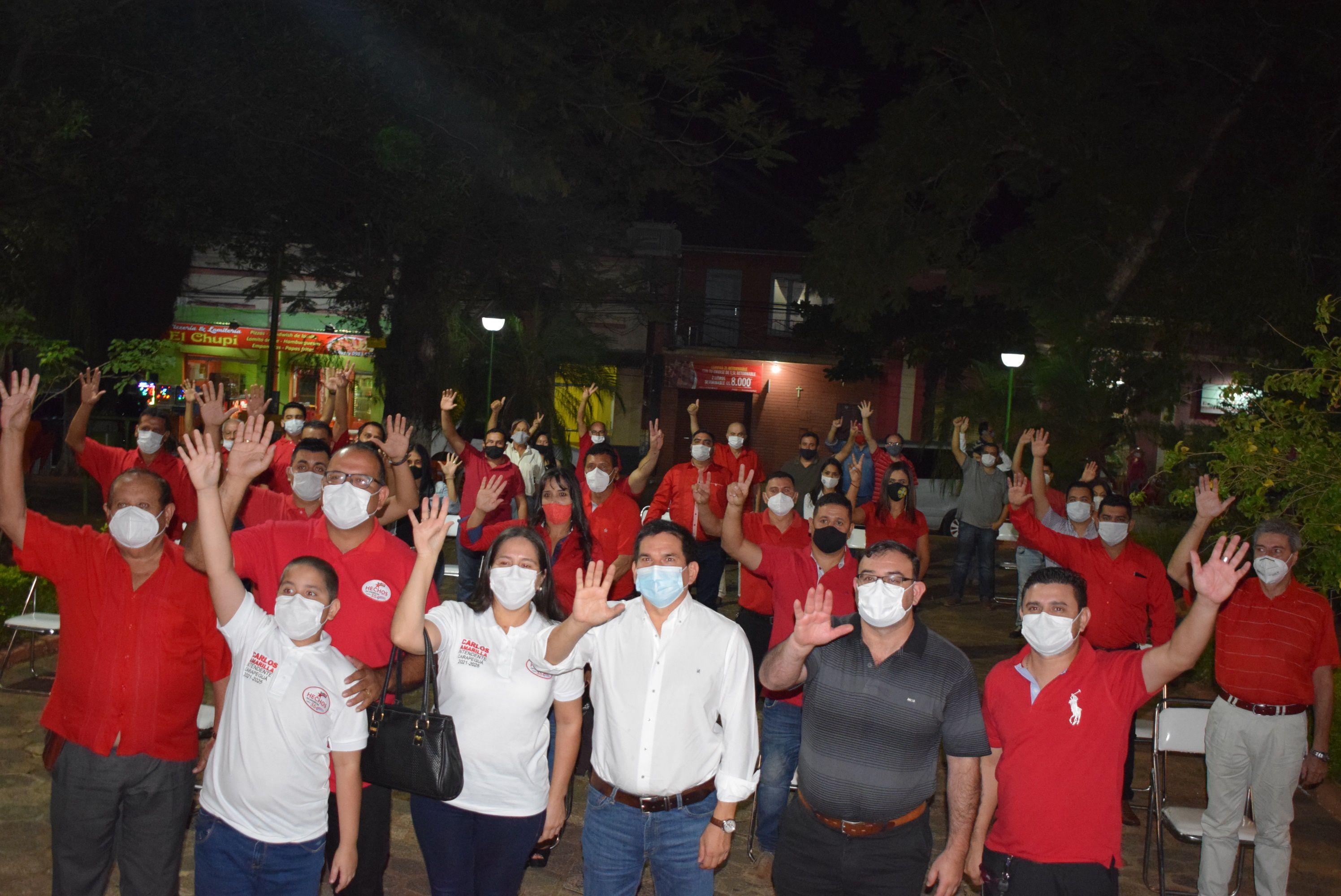 Los precandidatos a la intendencia y concejalía prometen un gobierno transparente y sin corrupción