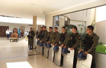 Incidentes en la Junta Municipal de Pedro Juan Caballero.