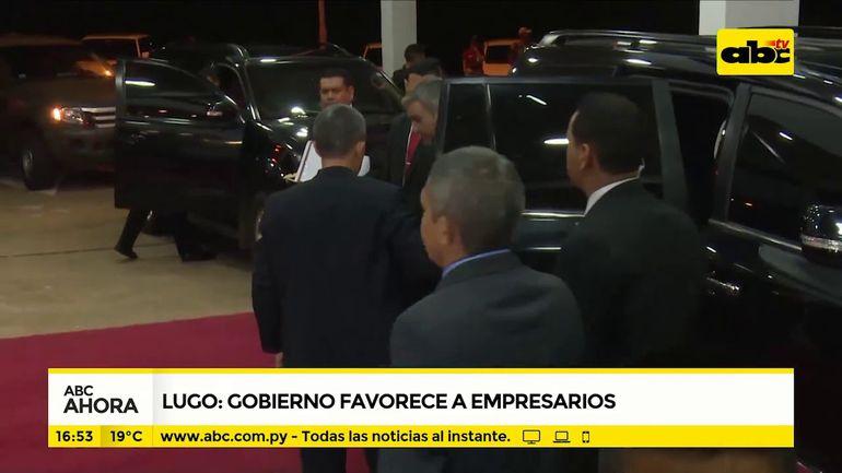 Lugo: Gobierno favorece a empresarios
