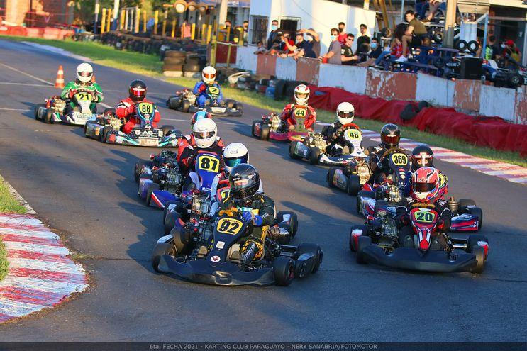 La categoría F4 Promocional quedó en manos de Andrés Bogarín (92).