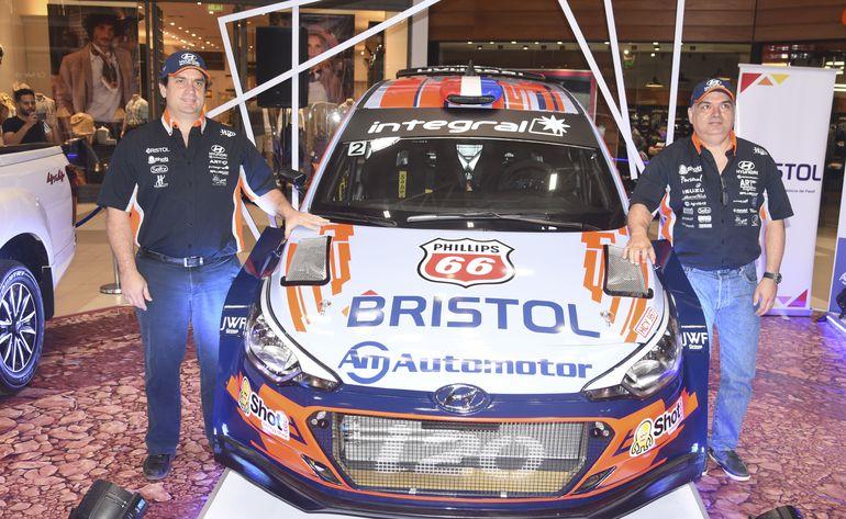 Diego Domínguez y Héctor Nunes estarán en otra edición del Rally del Chaco.