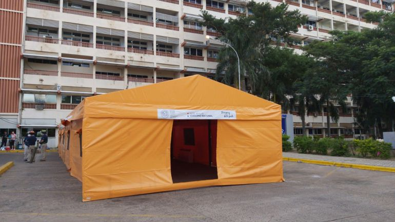 Carpa frente a IPS Central
