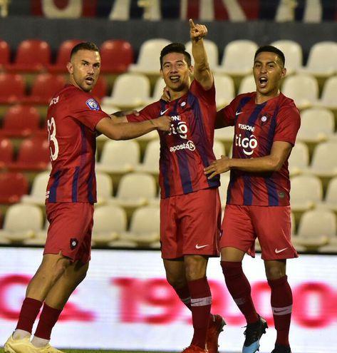 Cerro Porteño derrotó a Sportivo San Lorenzo en el Defensores.