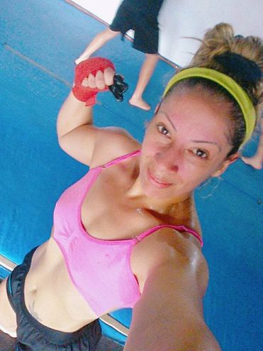 Adriana Zaldívar del Team Predator de la ciudad Villa Elisa.